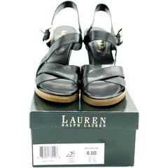 Black Ralph Lauren Sandals - Avery, Teach and Co.