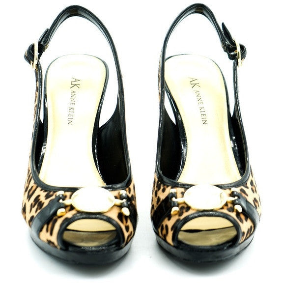 Anne Klein Cheetah Slingbacks Size 6.5