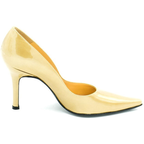 Stewart Weitzman Gold Heels - Avery, Teach and Co.