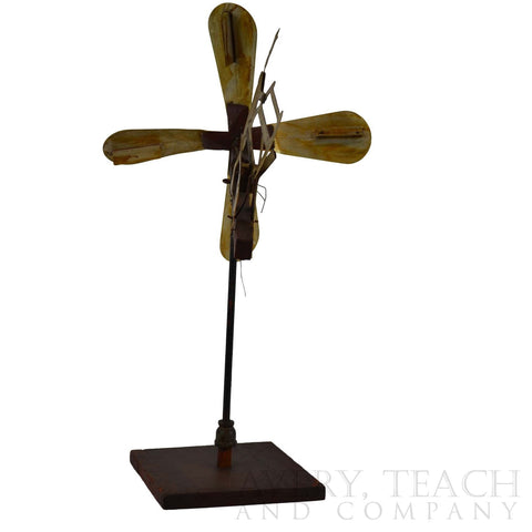 Folk Art Weathervane Whirligig - Avery, Teach and Co.
