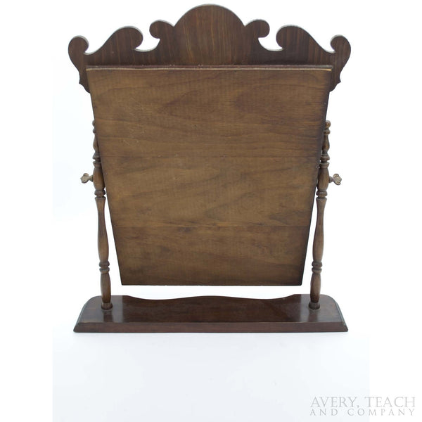 Antique Wood Vanity Mirror - Avery, Teach and Co.