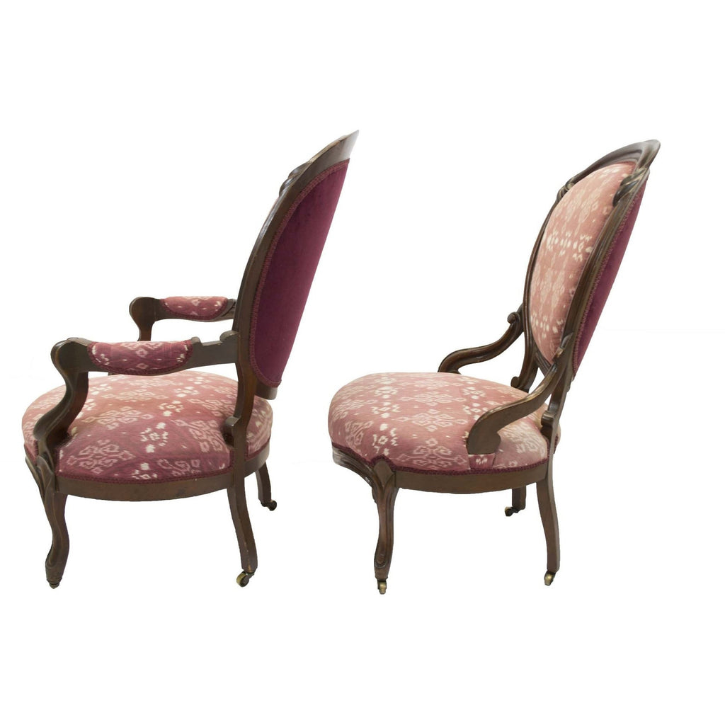 Victorian Parlor Chairs   Avery, Teach And Co.