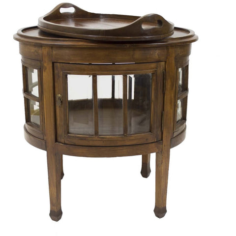 Mahogany Tea Table - Avery, Teach and Co.