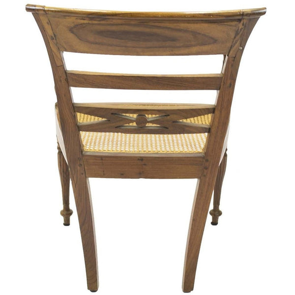 Antique Regency Side Arm Chair - Avery, Teach and Co.