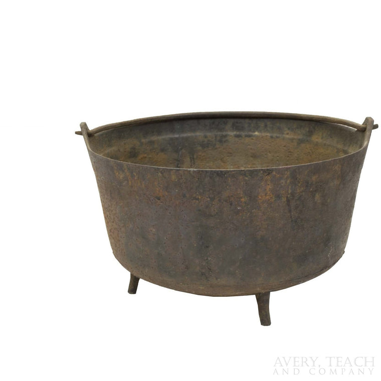 Vintage Cast Iron Cauldron