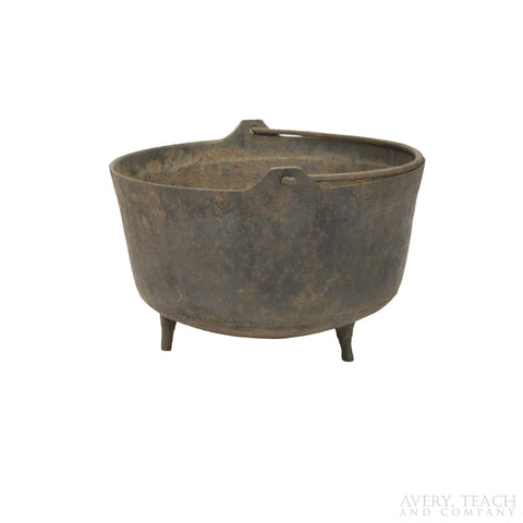 Vintage Cast Iron Cauldron - Avery, Teach and Co.