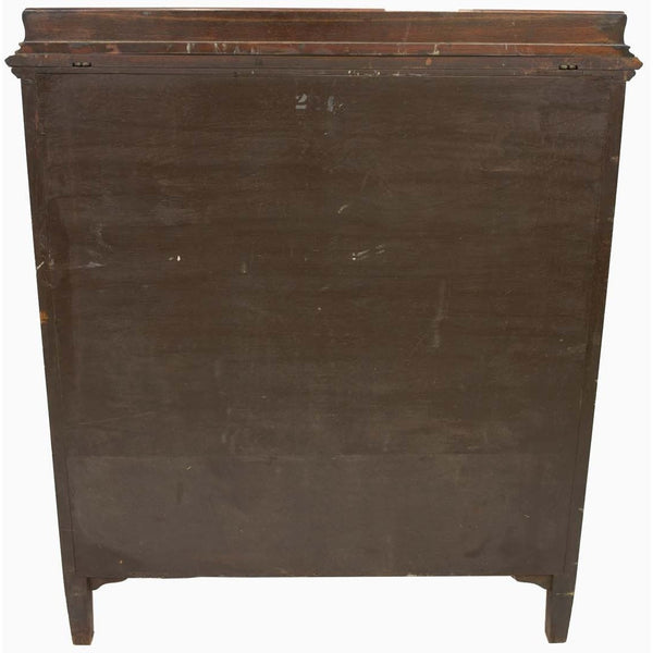 19th Century Tall Mahogany Chest - Avery, Teach and Co.