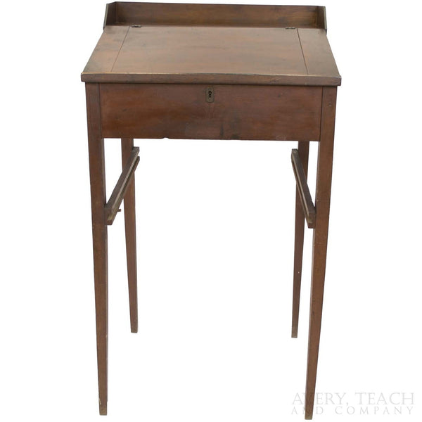 Antique Lift-Top Standing Desk