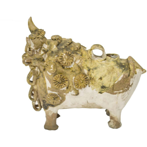 Vintage Clay Bull - Avery, Teach and Co.