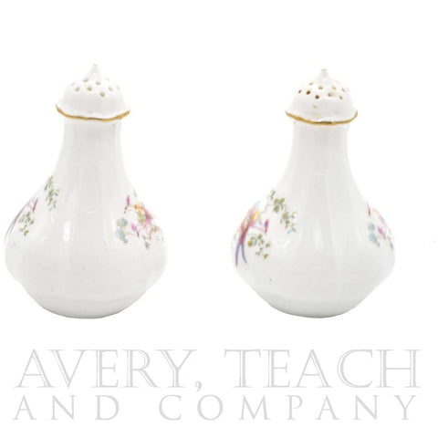 Royal Crown Derby Bird Pattern Bone China Salt and Pepper Shaker Set - Avery, Teach and Co.