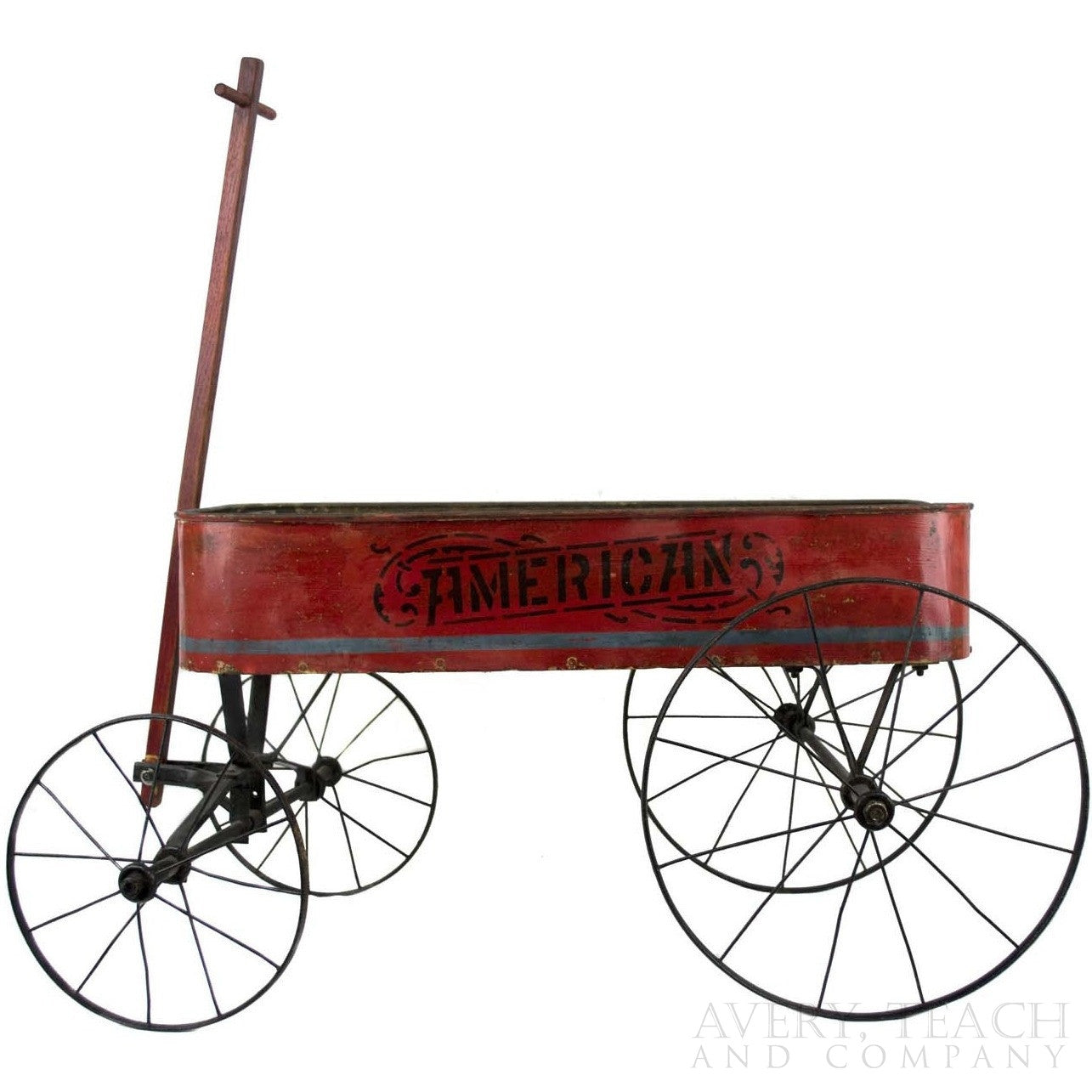 Vintage American Red Wagon