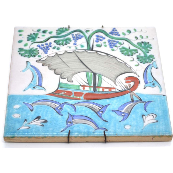 Handmade Greecian Tile
