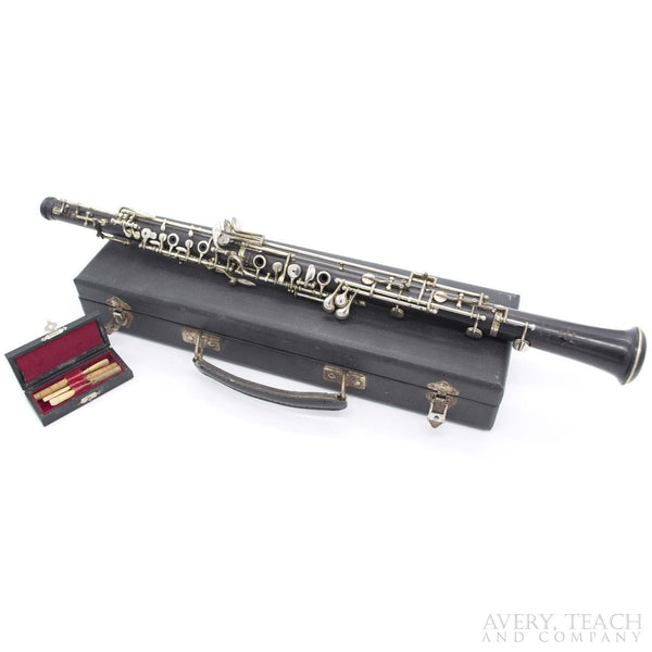 Vintage R. Malerne French Oboe - Avery, Teach and Co.