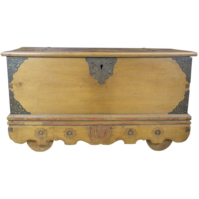 Vintage Indonesian Rice Chest