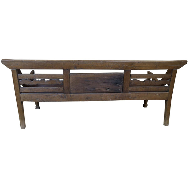 Dutch Colonial Teak Bench - Avery, Teach and Co.