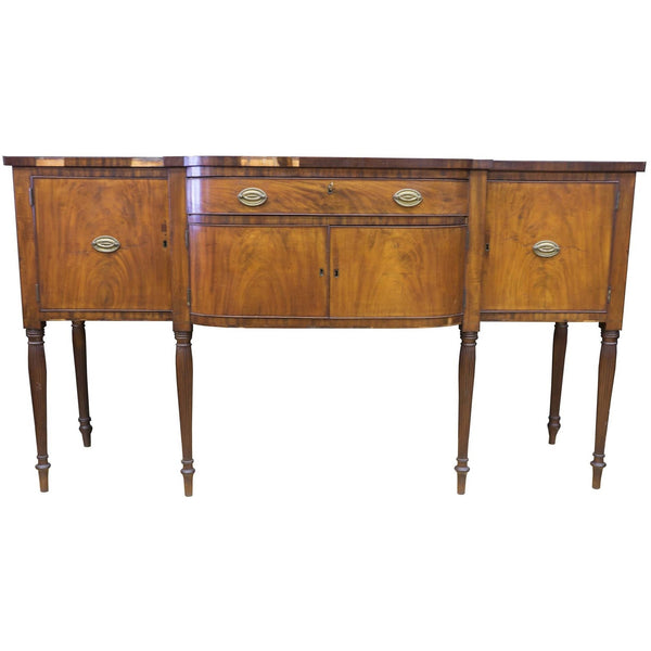 Antique Sheraton Dome Front Buffet