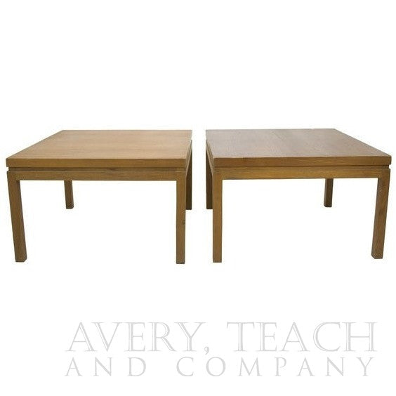 Pair of 1960's Mid-Century Square Coffee Tables - Avery, Teach and Co.