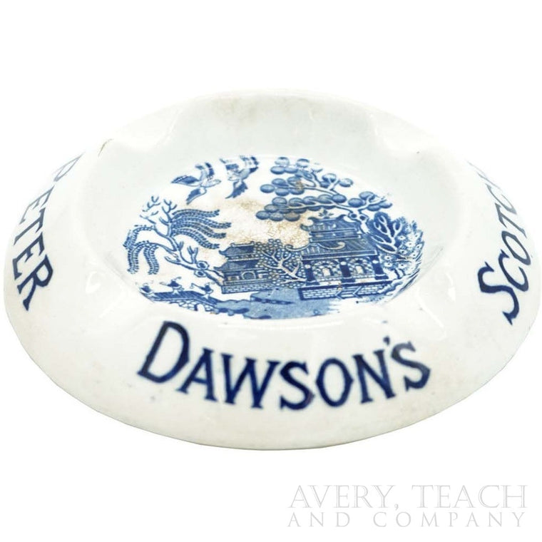 Peter Dawson's Scotch Whisky Ashtray