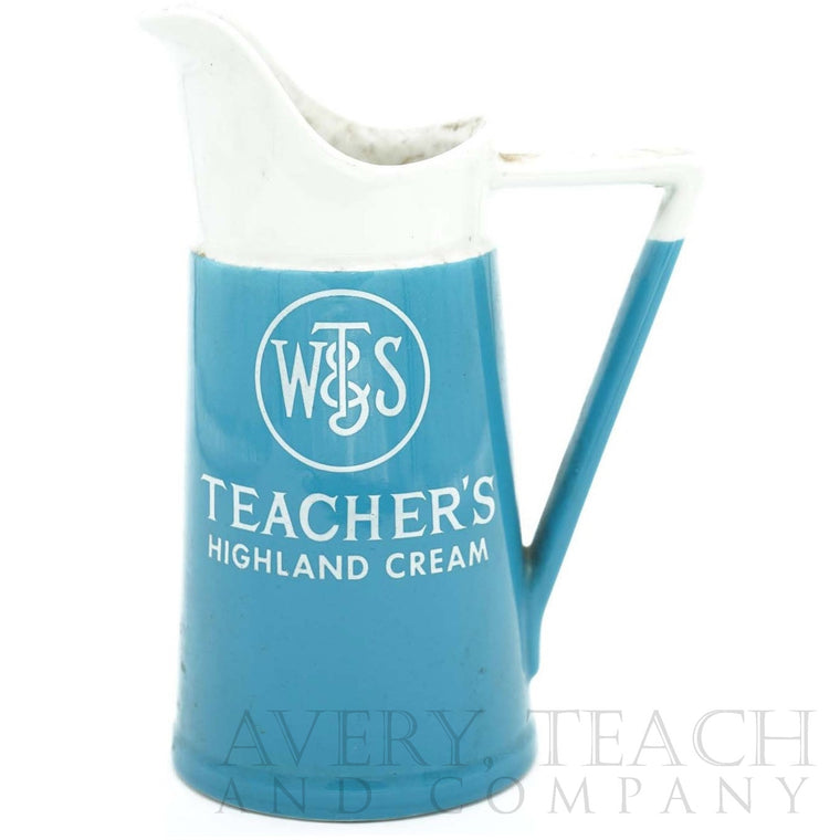 Teacher's Highland Cream USA Ceramic Pitcher