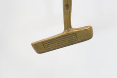 Right-Handed Vintage Brass Putter