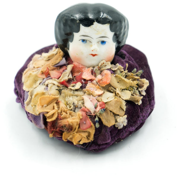 Doll Head Pin Cushion