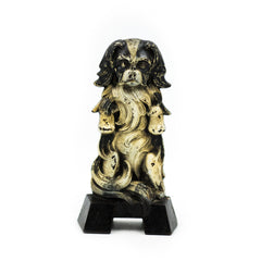 CJO Judd Begging Japanese Spaniel Cast Iron Doorstop