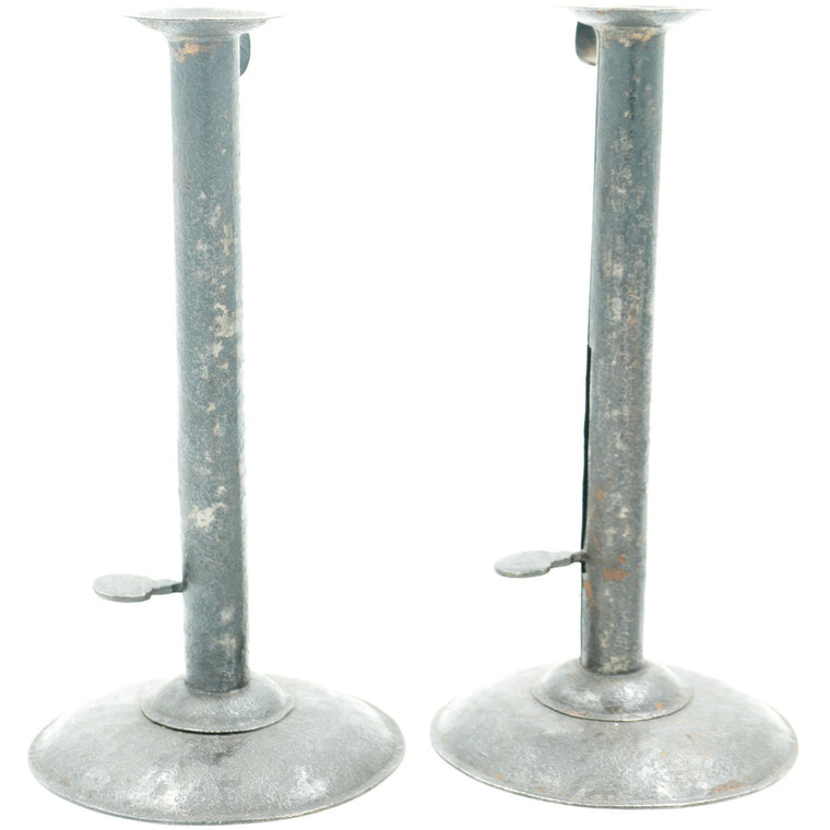 Tall Hogscraper Candlesticks (Set of 2)