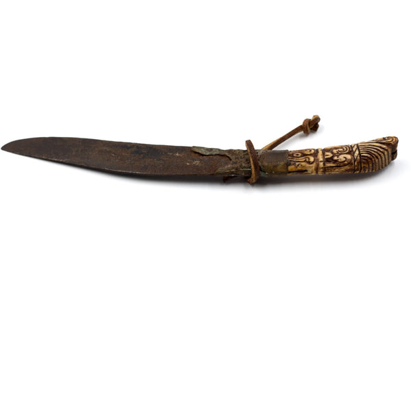 Sri Lankan Ivory or Boned-Handled Knife