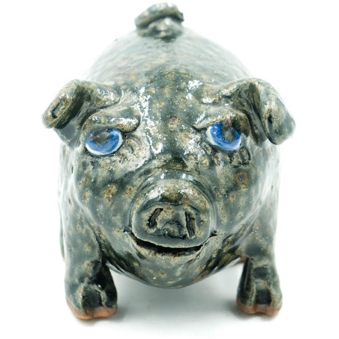 Modern Pig Glazed Sewer Tile Sculpture
