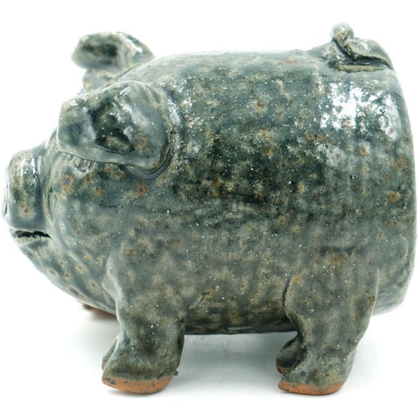Modern Pig Glazed Sewer Tile Sculpture - Avery, Teach and Co.