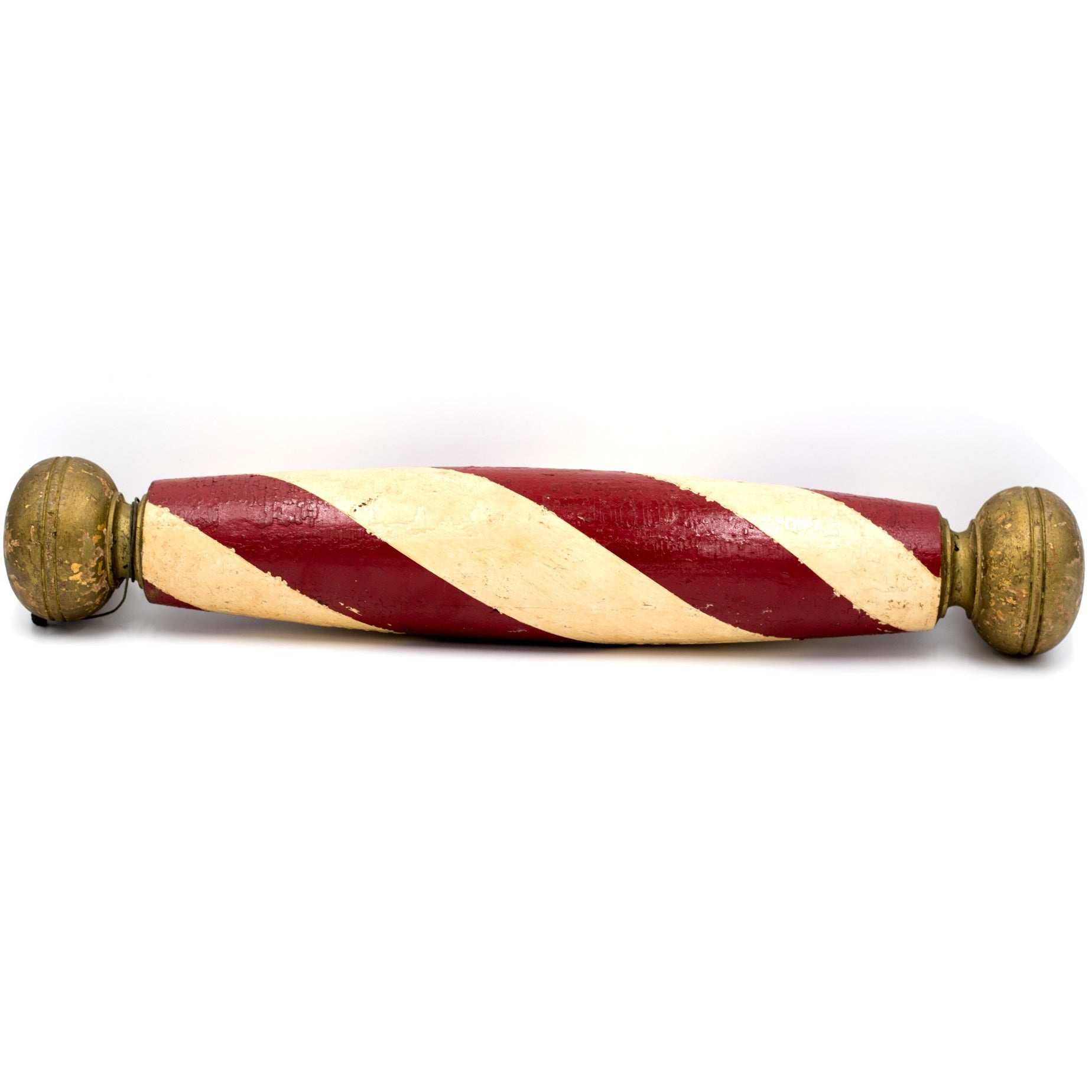 Hand-painted Barbershop Pole
