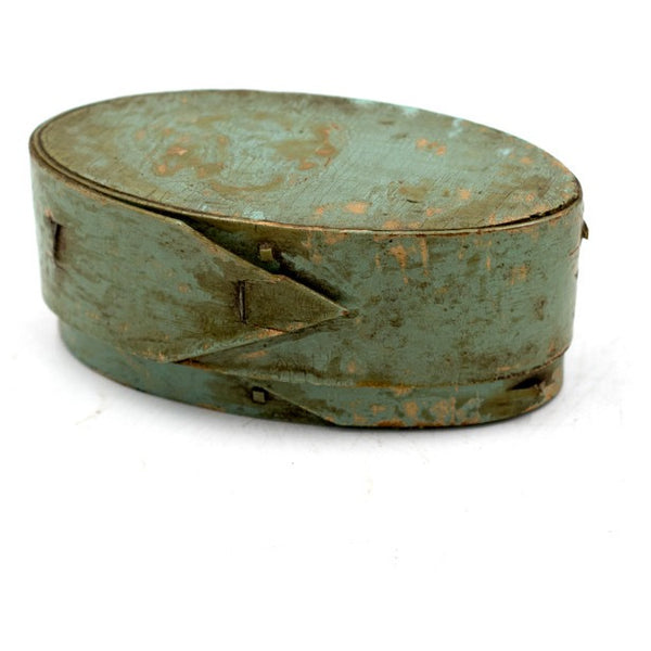 Turquoise Painted Shaker Box