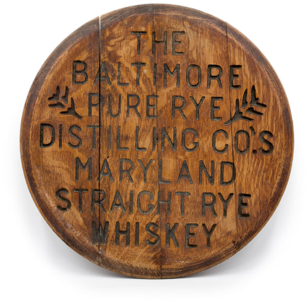 Baltimore Pure Rye Distilling Co. Barrel Lid