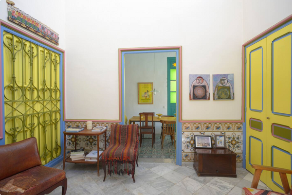 5 Stylishly Designed Airbnbs in Tunis // Indigo Trade