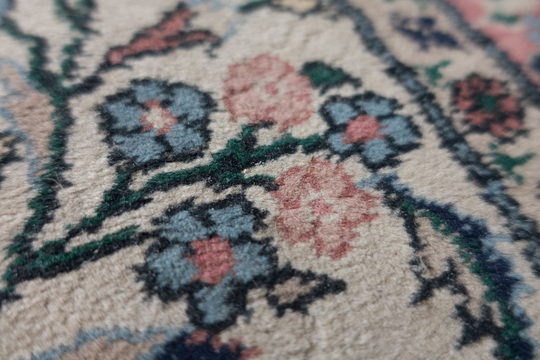 Vintage 19ft Runner Persian Carpet Hallway Rug