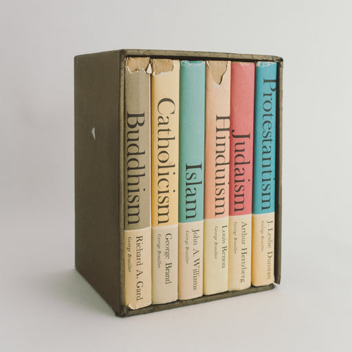 1962 Great Religions of Modern Man Books Boxed Set