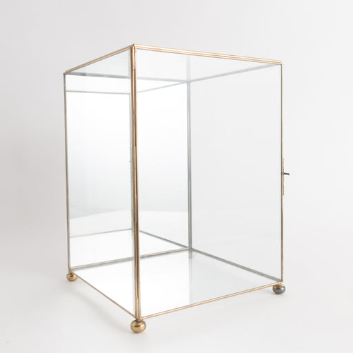 "11"" Vintage Glass Display Box 
