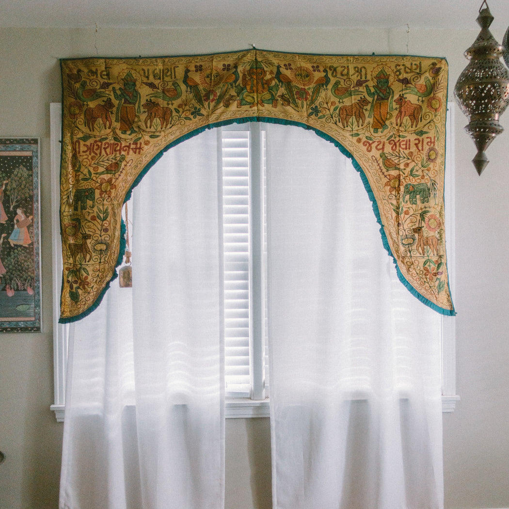 Indian Toran Curtain Panel