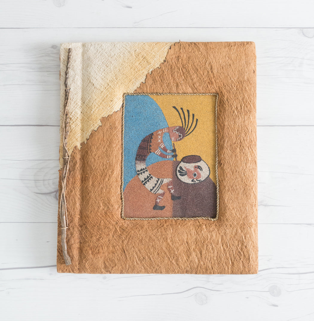 Vintage Kokopelli Sand Painting Photo Album