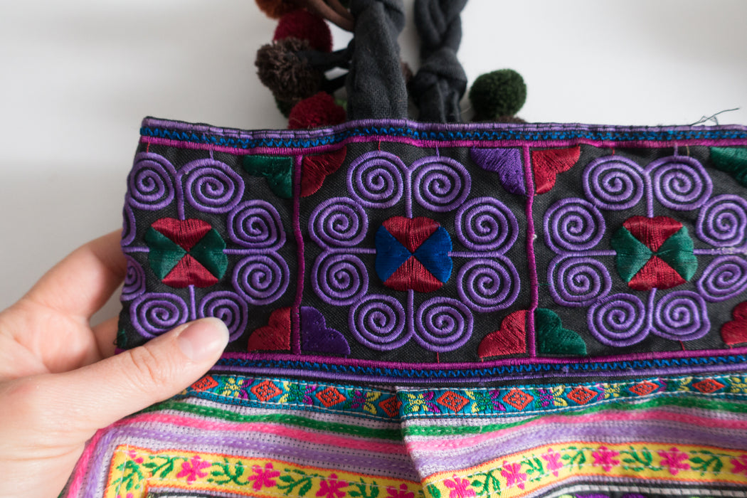 Thai Vintage Fabric Tote