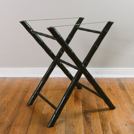 Vintage Folding Luggage Stand