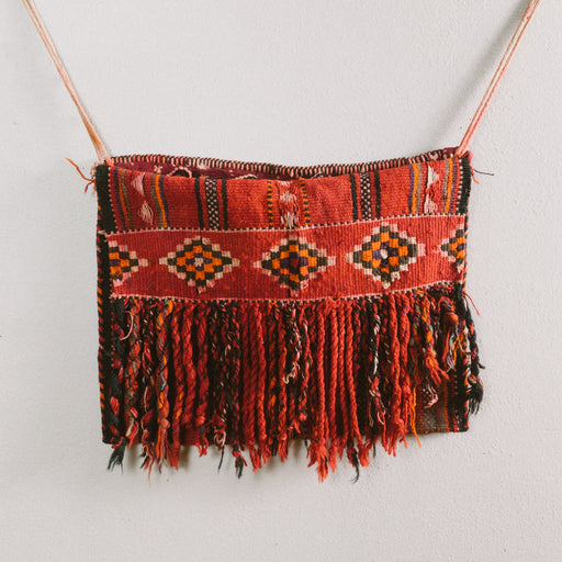 Vintage Bedouin Camel Saddle Bag