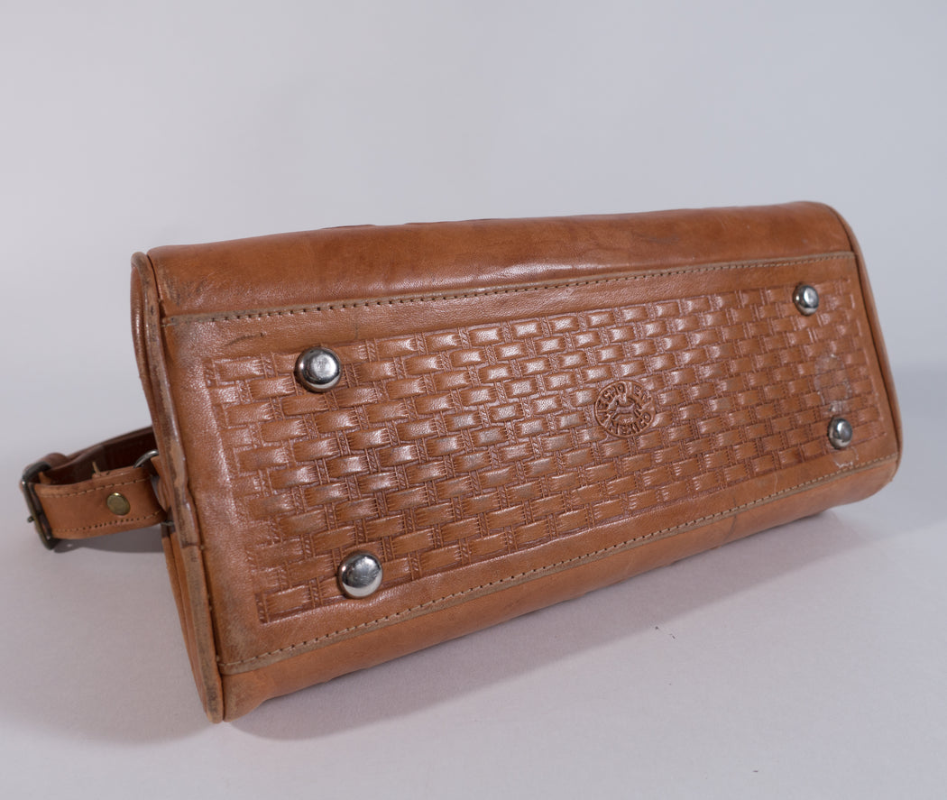 Vintage Tooled Leather Purse | Southwest Shoulder Bag