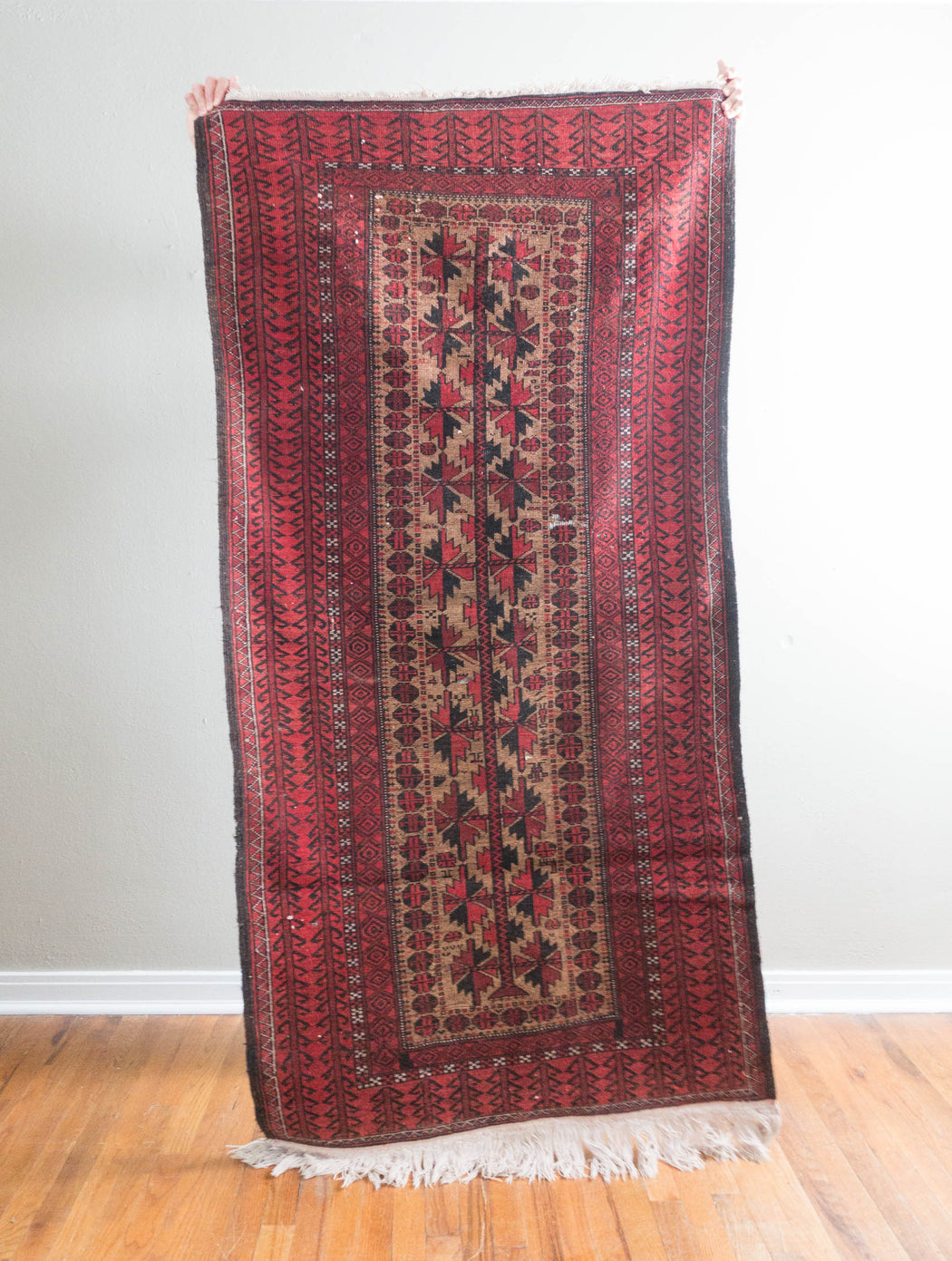 3x7 Vintage Persian Carpet