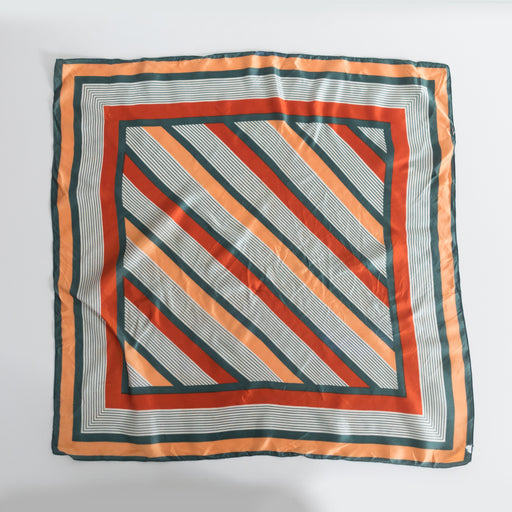 Vintage Striped Scarf