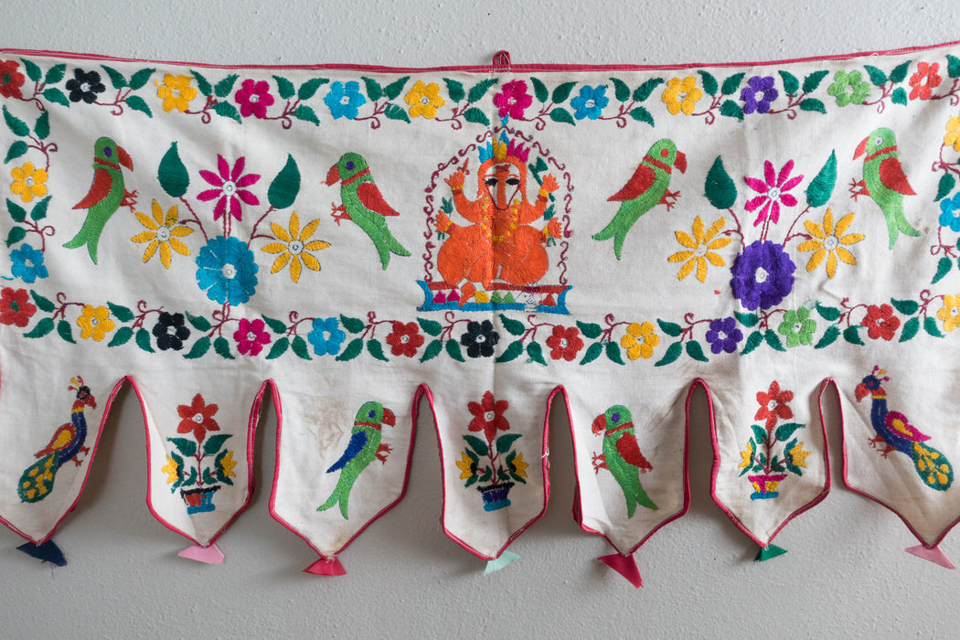 Indian Embroidered Wall Hanging