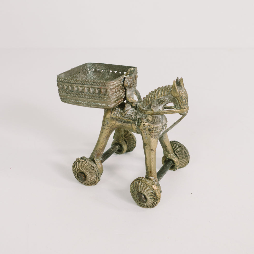 Antique Indian Brass Temple Toy