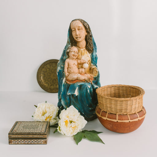 1979 Madonna and Child Statue
