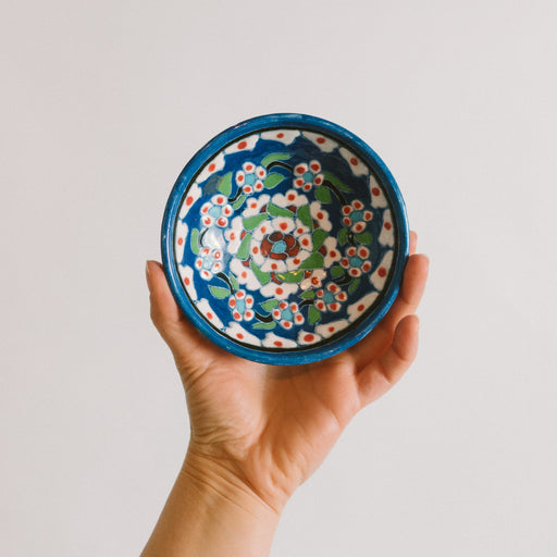 Vintage Hand Painted Spice Bowl
