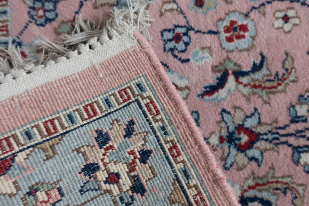 2x3 Vintage Hand Knotted Wool Carpet